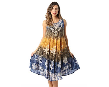 c5d2a69f24 Whenever the sun pops out, this is the summer dress you'll want to slip  into! We've designed it to exude a beautiful summery look that will  transform any ...