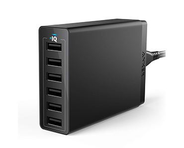 Anker 60W 6 Port USB Wall Charger