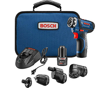 Bosch GSR12V-140FCB22 Cordless Electric Screwdriver Kit