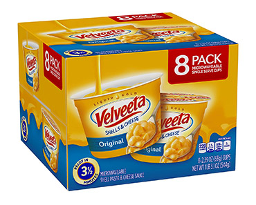 Velveeta Original Shells & Cheese Microwavable Cups