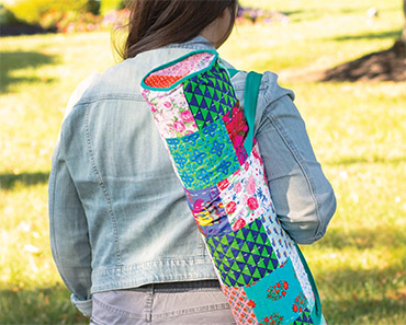 Kantha Splash Yoga Bags