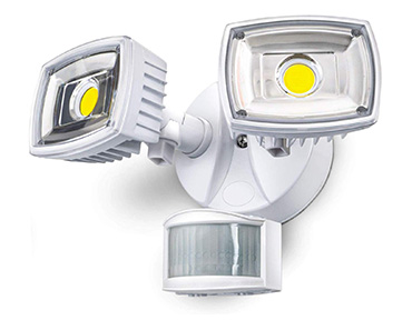 Home Zone ES00730V Security LED Motion Sensor Flood Lights