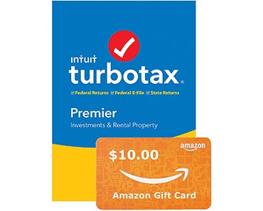 TurboTax Premier + State 2019 Tax Software