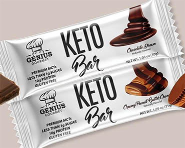 WIN a Full Year of Genius Gourmet Keto Bars