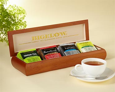 Bigelow Tea Four Flavor Tea Chest