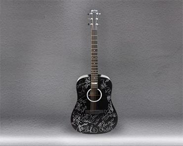 Johnny Cash Autographed Martin Guitar Giveaway