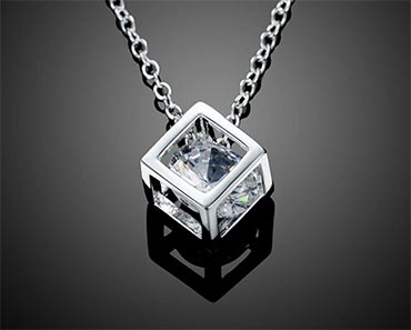 Rubix Cube Necklace Giveaway