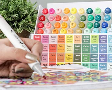 ColorIt's 60 Art Markers Set Giveaway