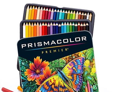 Set of 48 Colored Pencils