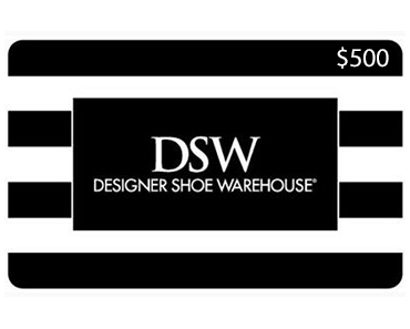 $500 DSW Gift Card