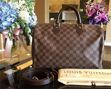 LOUIS VUITTON SPEEDY BANDOULIERE 35 GIVEAWAY