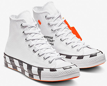 converse off white sneakers
