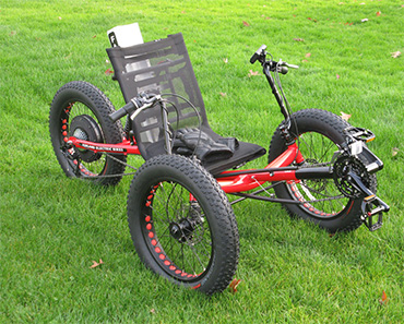 Electric Fat Tad Trike