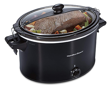 Hamilton Beach Extra-Large Stay or Go Slow Cooker