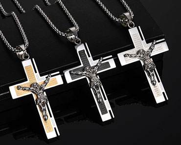 crucifix cross pendant